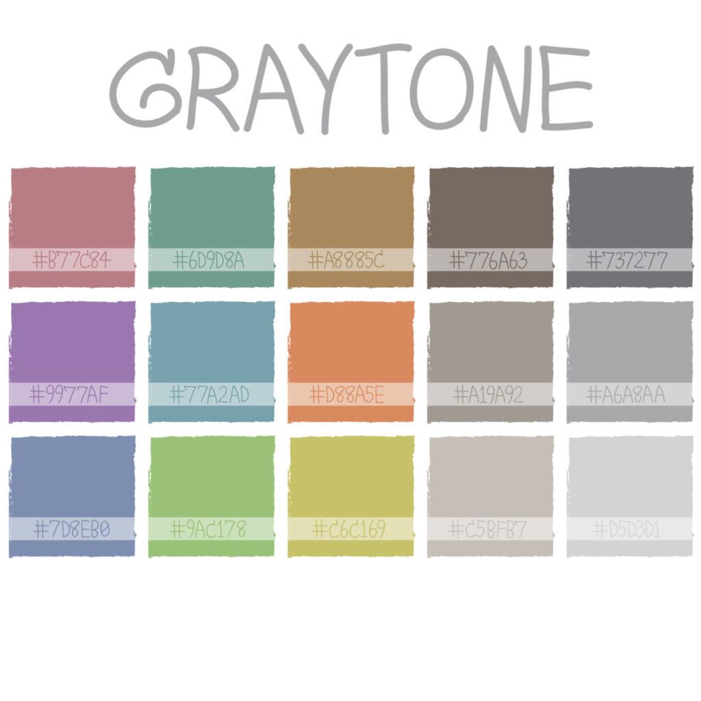 Cut-Paste-Graytone-Palette