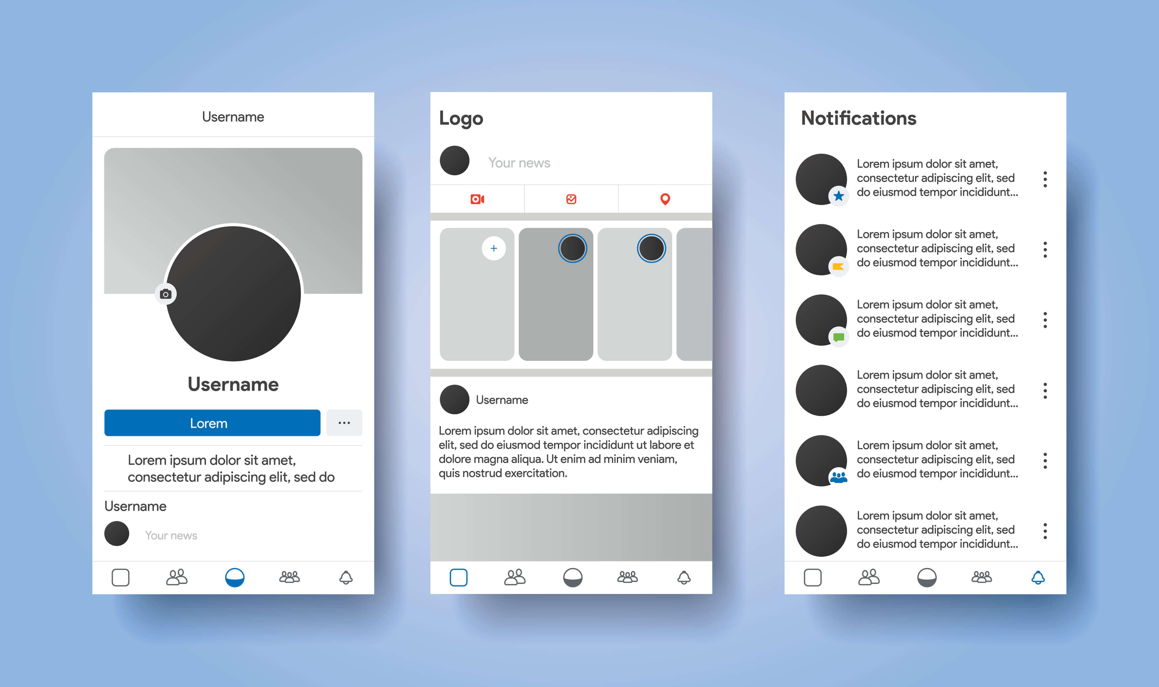 social media profile - cut an image into a circle
