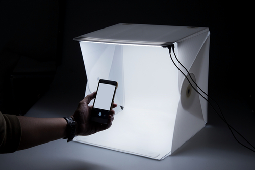 Use A Lightbox For Small Items To Make Your Model Pop